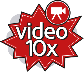 Video 10x Logo - Content 10x