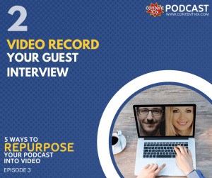 Repurpose podcast into video - Content 10x