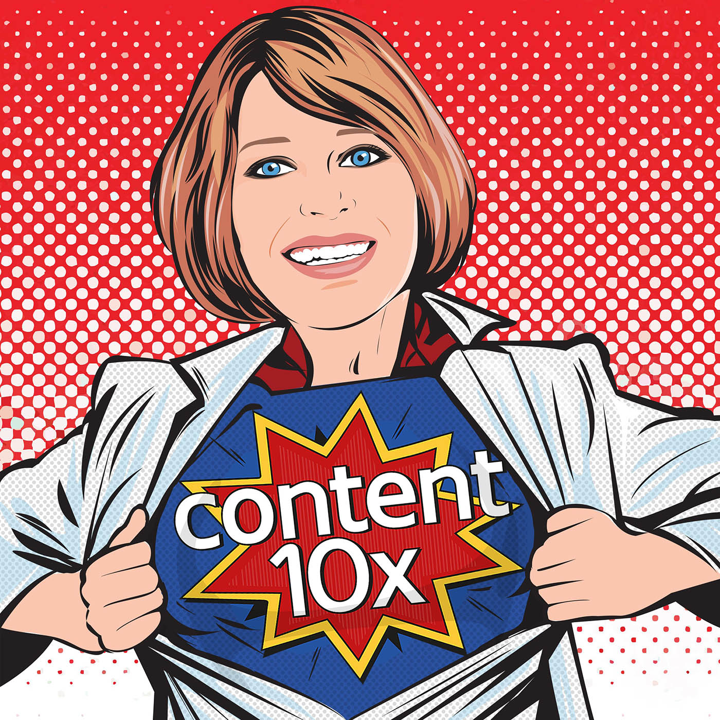 The content 10x podcast