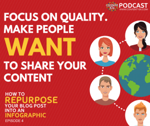 How to repurpose your blog post into an infographic - Content 10x