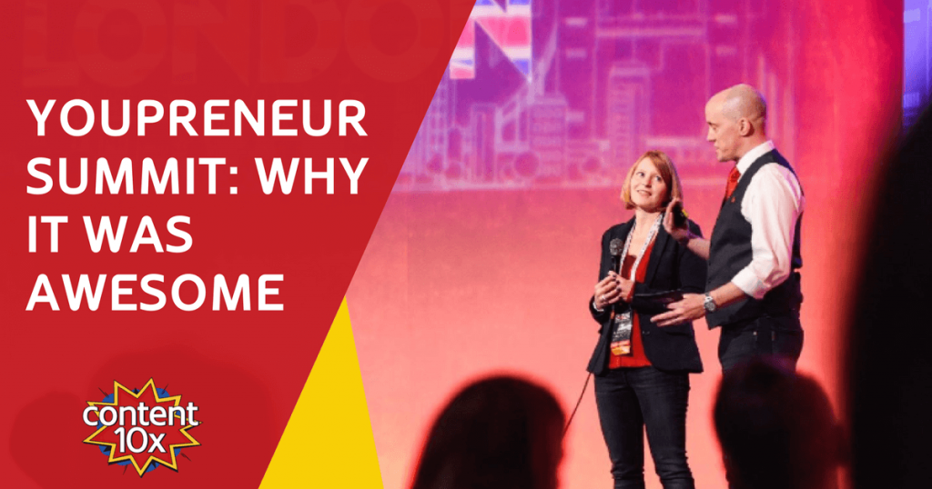 Youpreneur Summit - Amy Woods Content 10x Review