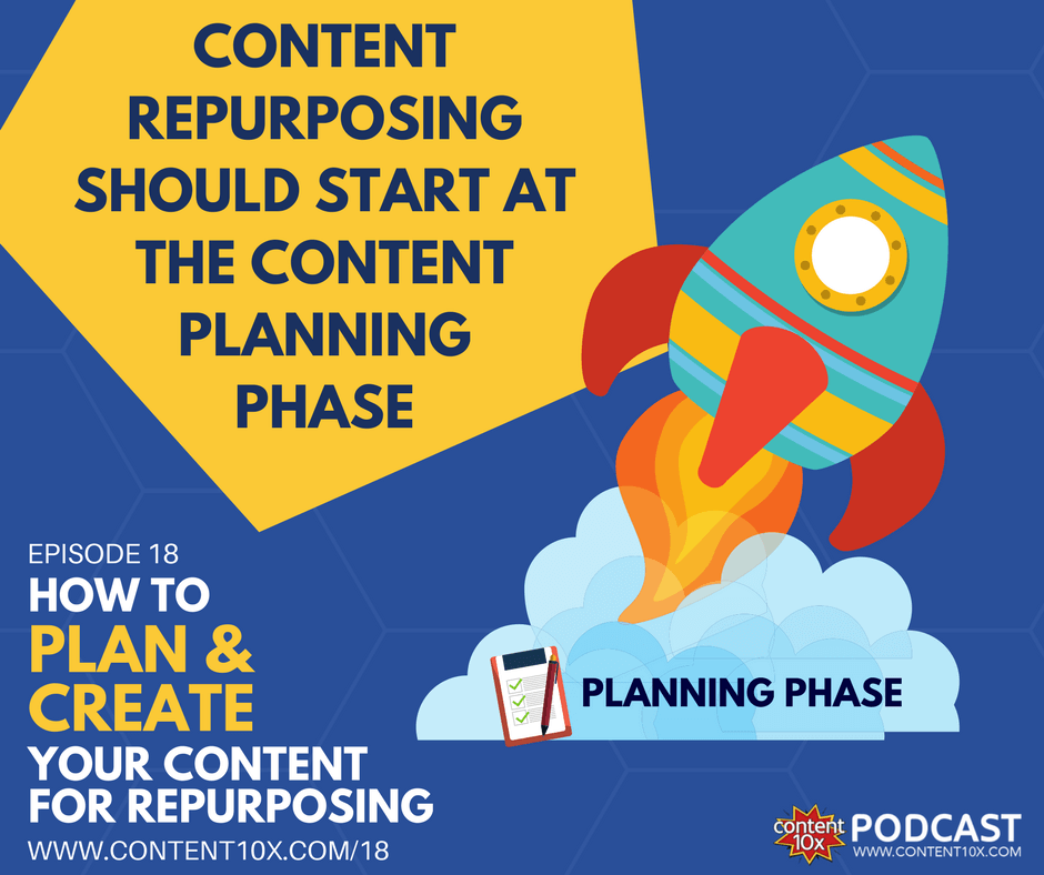 EP 18 - How To Plan & Create Your Content For Repurposing