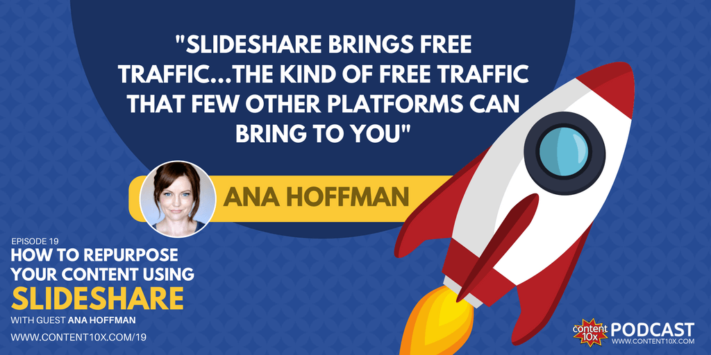 How to Repurpose Your Content Using SlideShare with Ana Hoffman