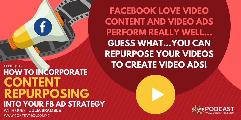 How to Incorporate Content Repurposing into your FB Ad Strategy