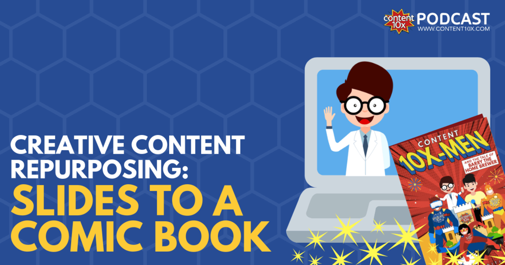 Creative Content Repurposing - Slides to a Comic Book