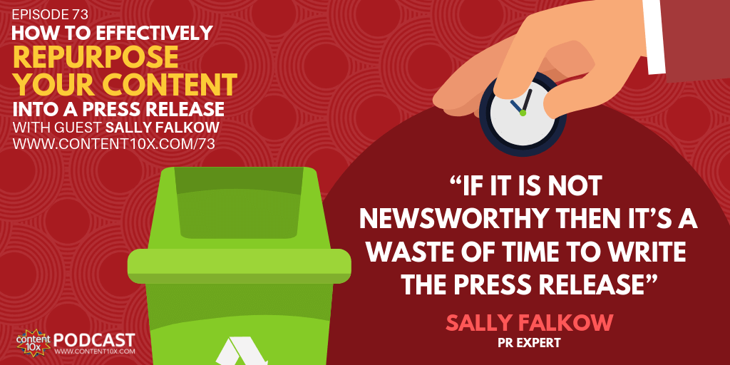 How to Effectively Repurpose Your Content Into a Press Release