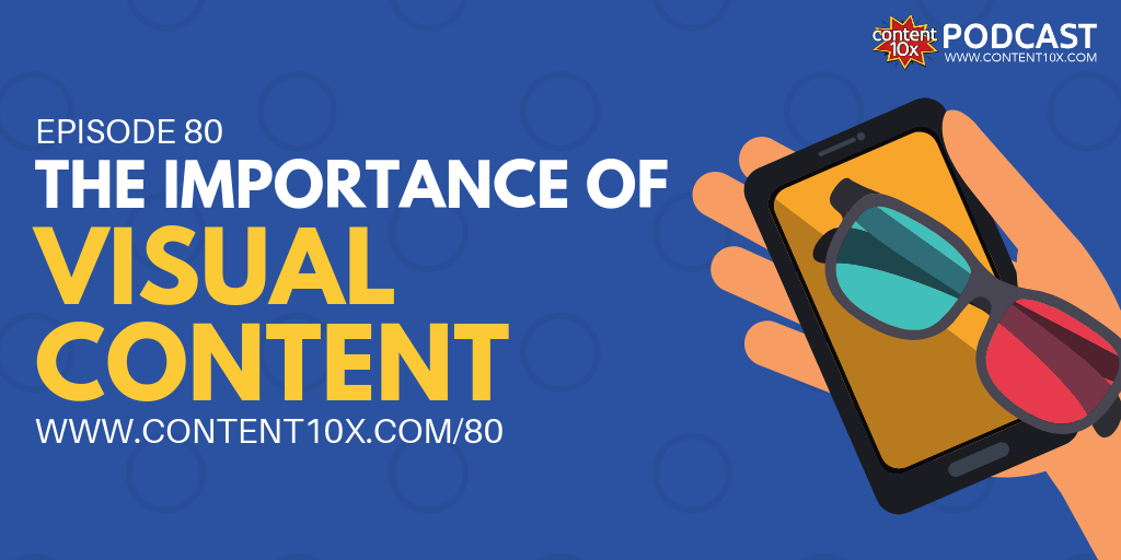 The Importance of Visual Content - Content 10x Podcast