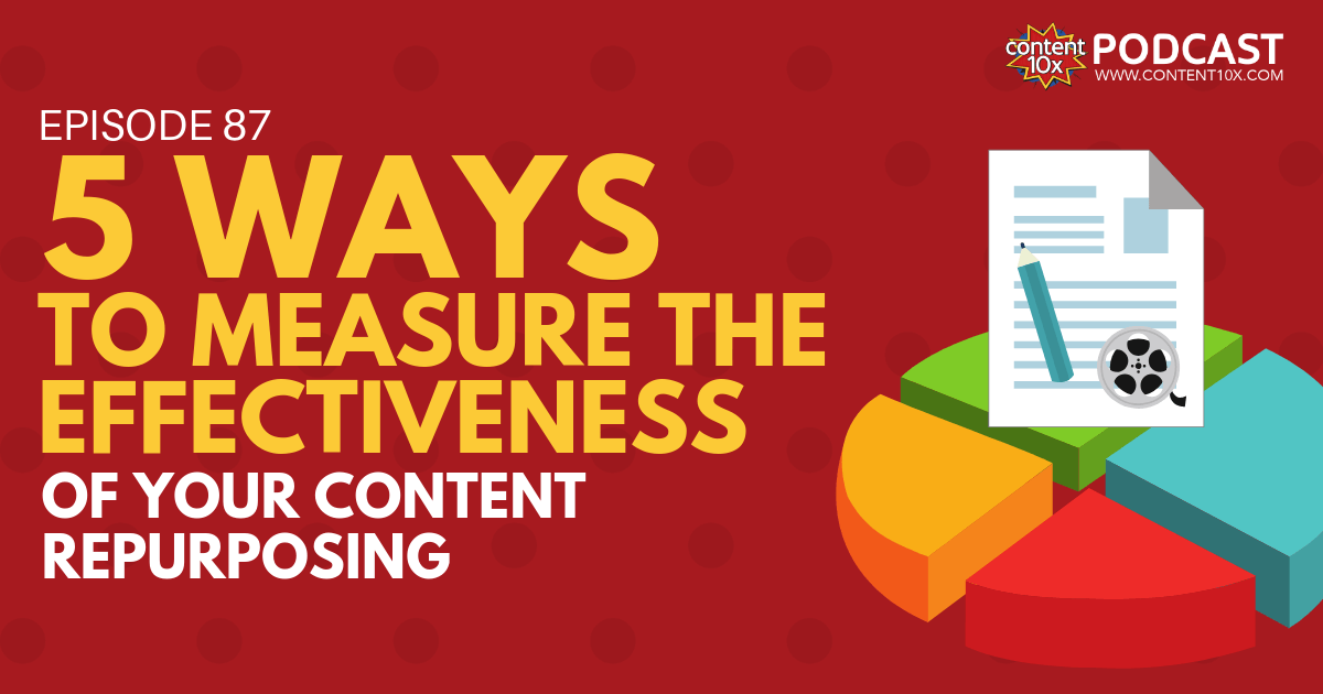5 Ways to Measure The Effectiveness of Your Content Repurposing - Content 10x Podcast