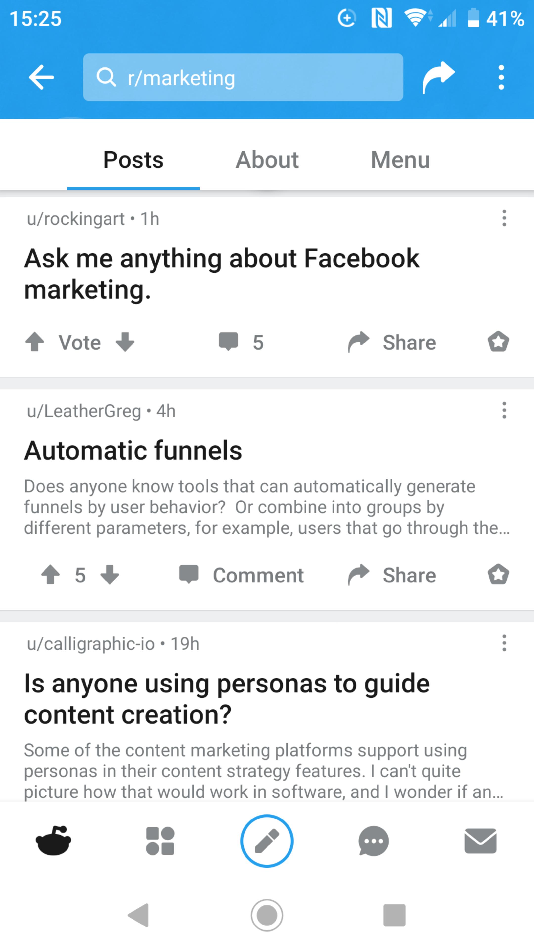 Repurposing Content on Reddit