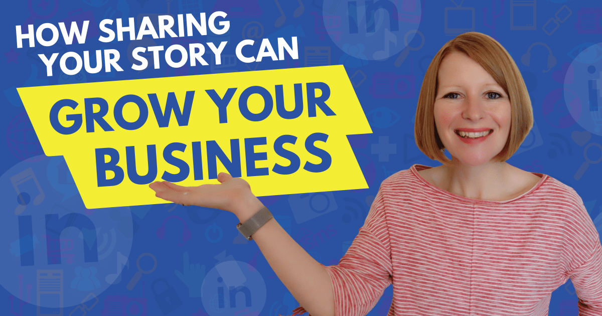 How Sharing Your Story Can Grow Your Business - Content 10x Podcast