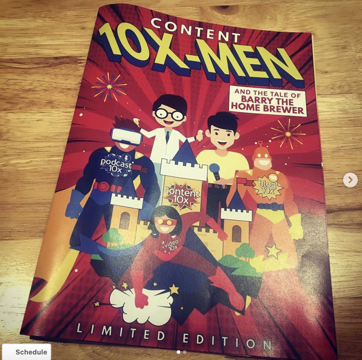 Content 10x Comic