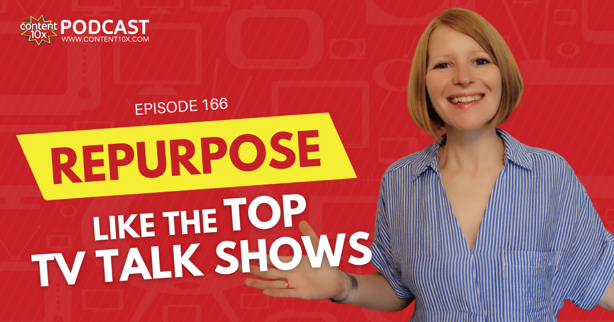 How to Repurpose Content Like Top TV Talk Shows