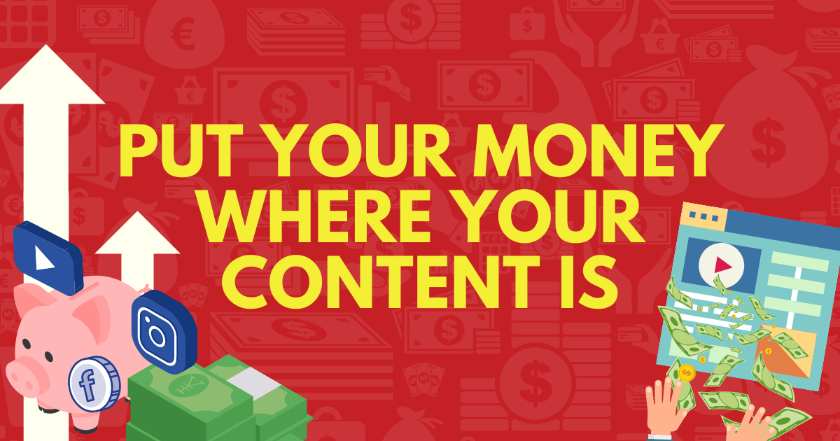 More investment in content and social media