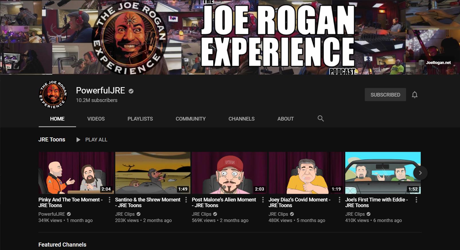 The Joe Rogan Experience.