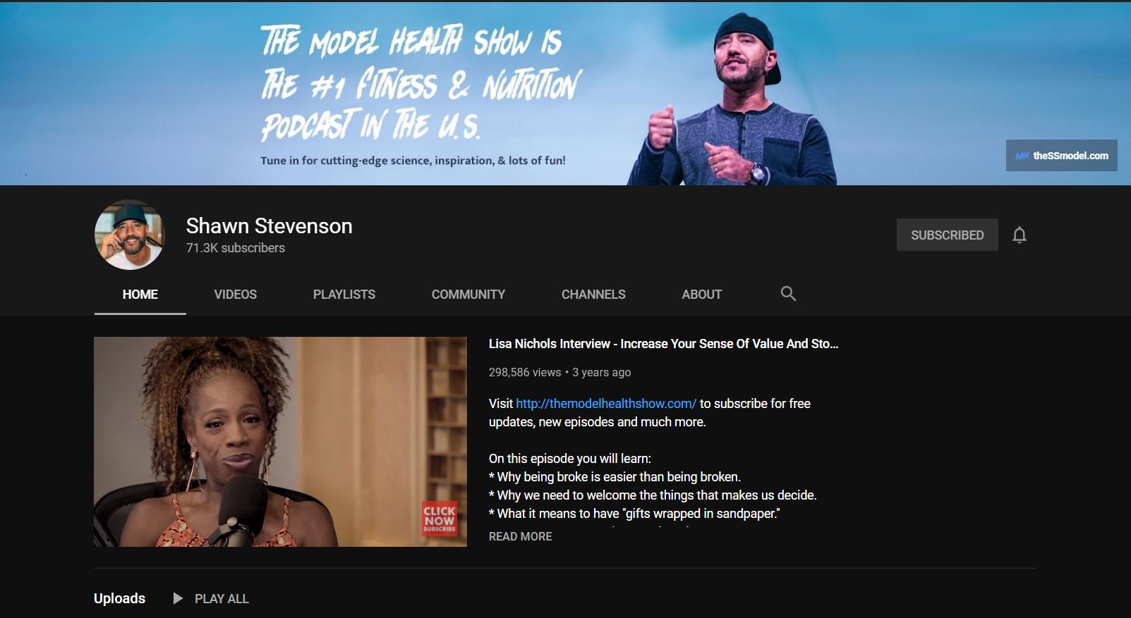The Model Health Show by Shawn Stevenson