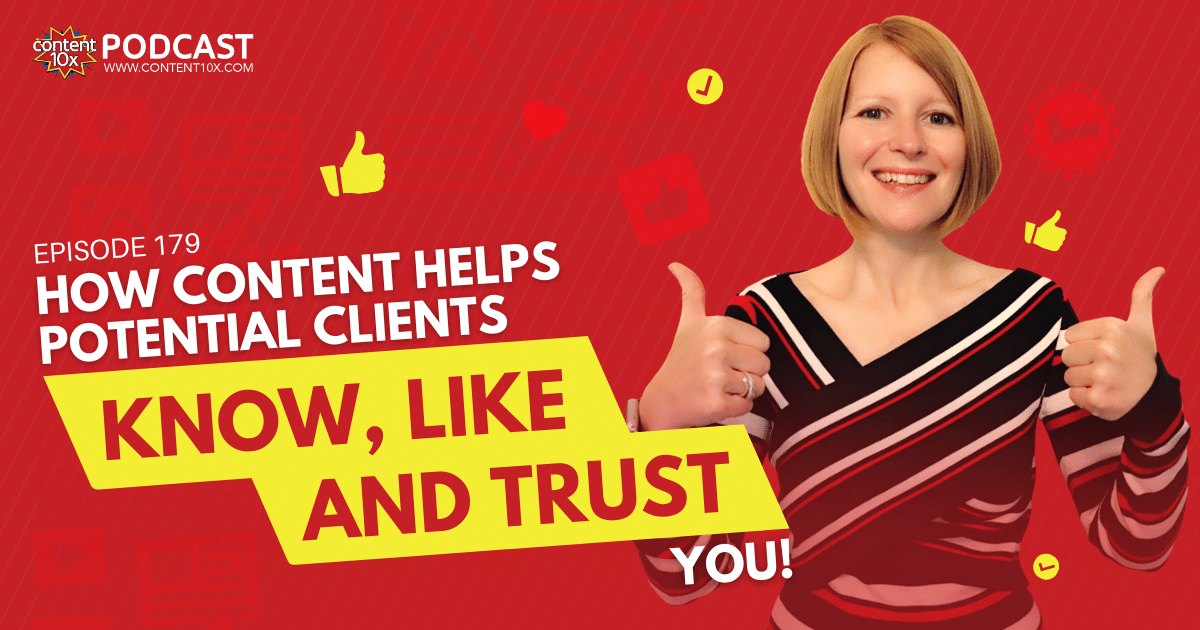 How Content Helps People Know, Like and Trust you!