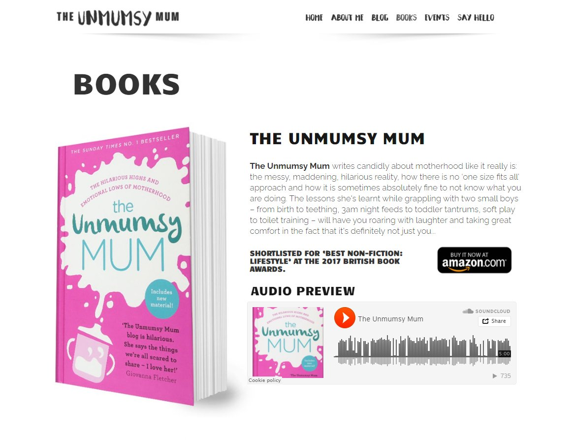 The Unmumsy Mum Books