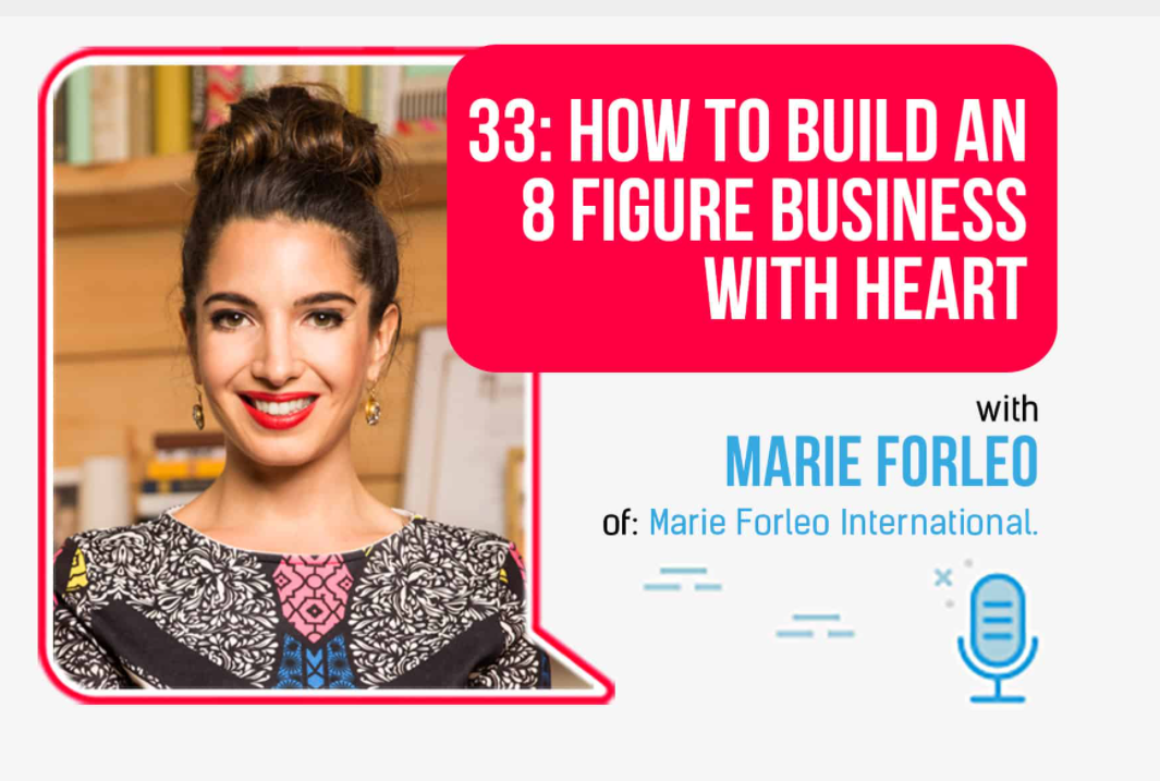Marie Forleo Interview with Foundr