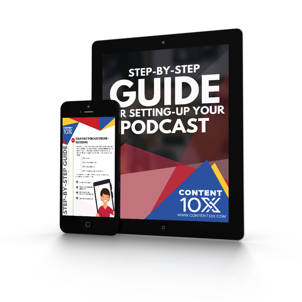 Step by step guide to setting up your podcast